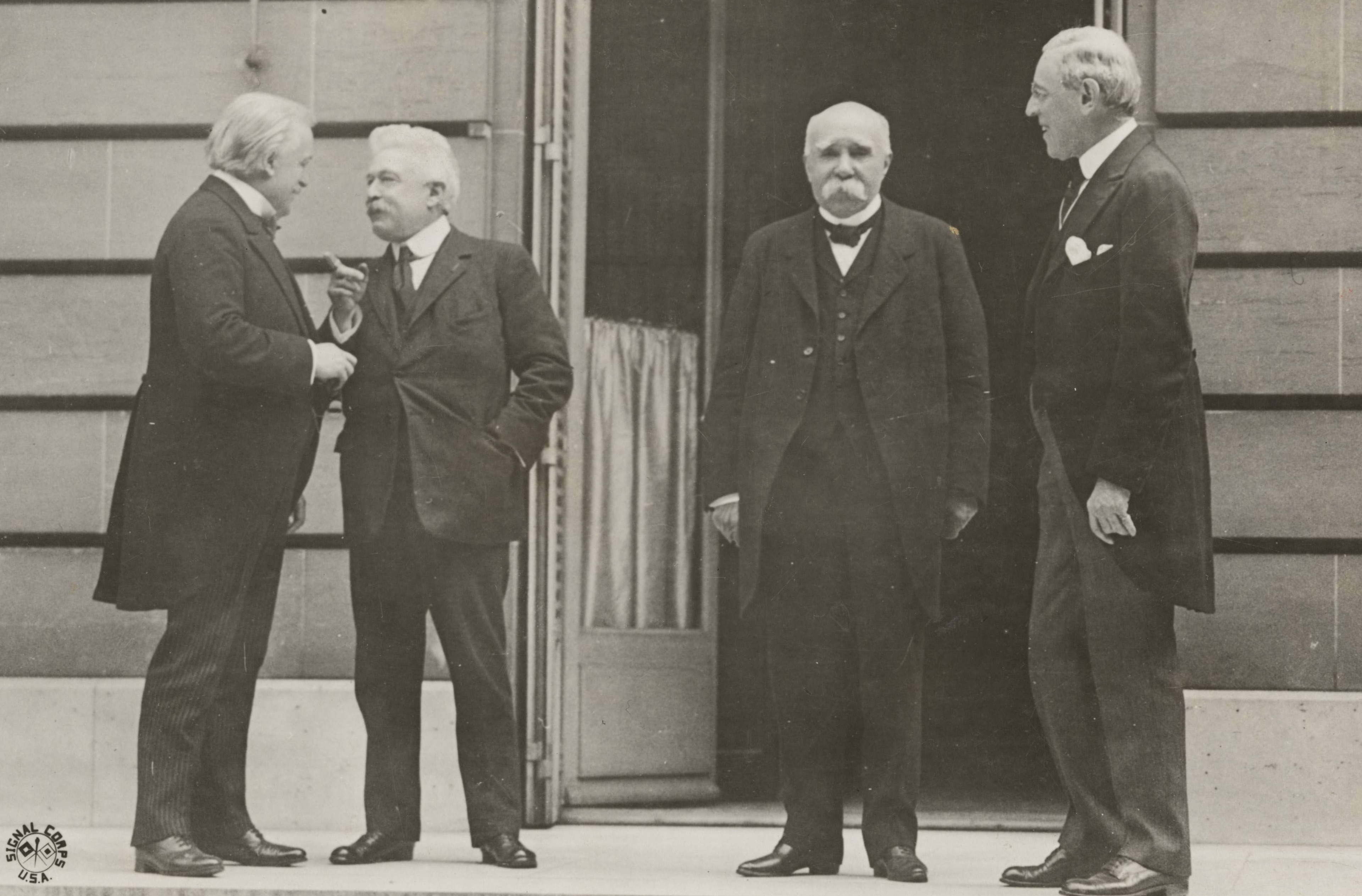 Council of Four at the Paris Peace Conference