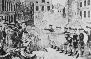 The Bloody Massacre Perpetrated in King Street, Boston on March 5th 1770 by a Party of the 29th Reg