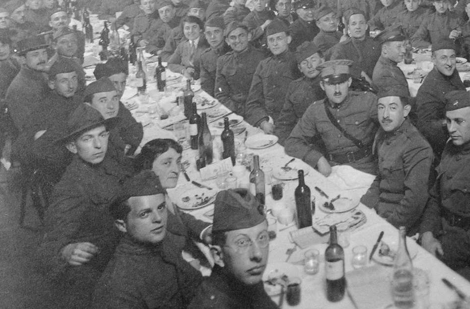 Passover Seder for the American Expeditionary Forces