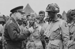 General Dwight D. Eisenhower Giving the Order of the Day
