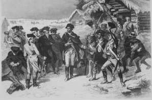 General George Washington and a Committee of Congress at Valley Forge