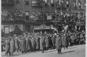 369th Infantry in its Welcome Home Parade.