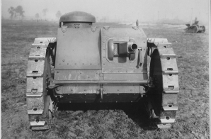 Front View of the Two-Man Tank Manufactured by the Ford Motor Company