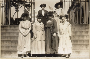 Delegation of Officers of the National American Women