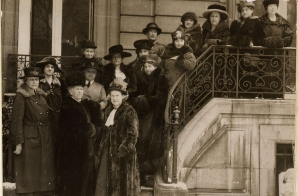 Allied Women in Paris to Plead for International Suffrage