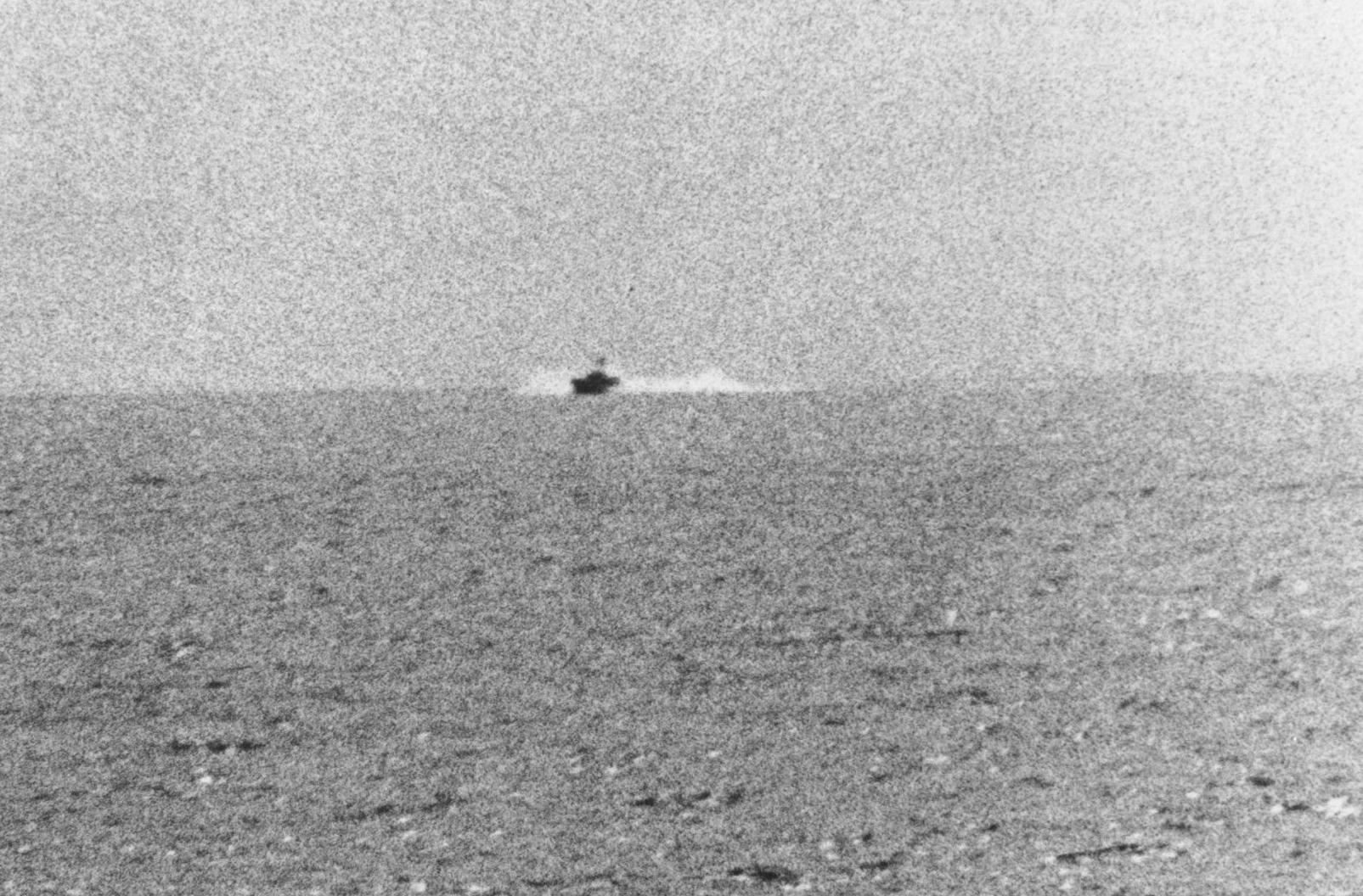 North Vietnamese Torpedo Boat Approaching the USS Maddox