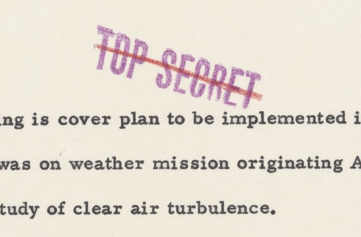 Cover Plan for Downed U-2 Flight