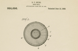 Patent Application for a Baseball