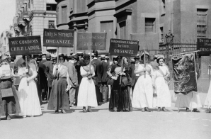 Women Demonstrating against Child Labor, New York City