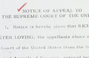 Appeal to the Supreme Court in Loving v. Virginia