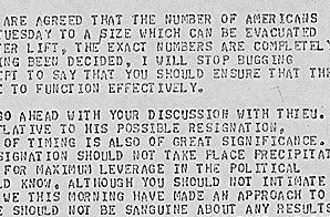 Cable from Kissinger to Ambassador Martin about the Evacuation of Saigon