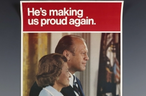Gerald R. Ford 1976 Presidential Campaign Poster