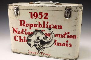 Cooler from the 1952 Republican National Convention