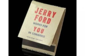 Matchbook from Gerald Ford