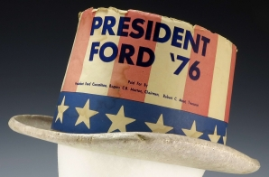 """President Ford '76"" Top Hat"
