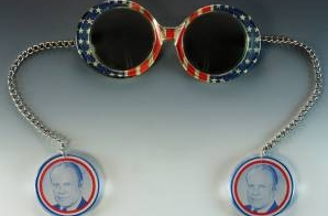 Souvenir Sunglasses from Gerald R. Ford's 1976 Presidential Campaign