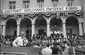 President Ford Campaigning in Mississippi
