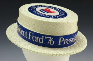 Faux Straw Hat from the 1976 President Ford Campaign