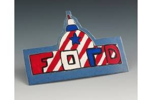 Homemade 1976 Gerald Ford Campaign Button
