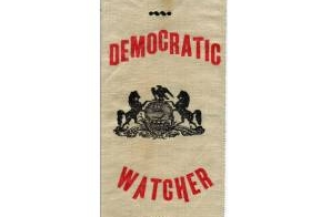 Democratic Ticket Campaign Badge
