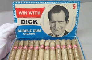 Novelty Nixon Election Campaign Bubblegum Cigars