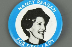 Nancy Reagan for First Lady Button