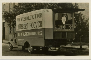 Motion Picture Truck Used in Herbert Hoover