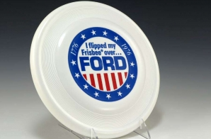 Ford Frisbee With Stars and Stripes Motif