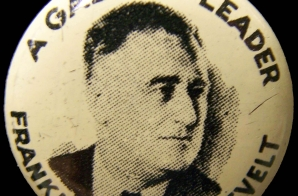1936 Roosevelt Campaign Button