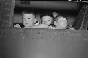 Little Evacuees Arrive at the Minidoka War Relocation Authority Center