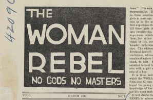 The Woman Rebel, No. 1