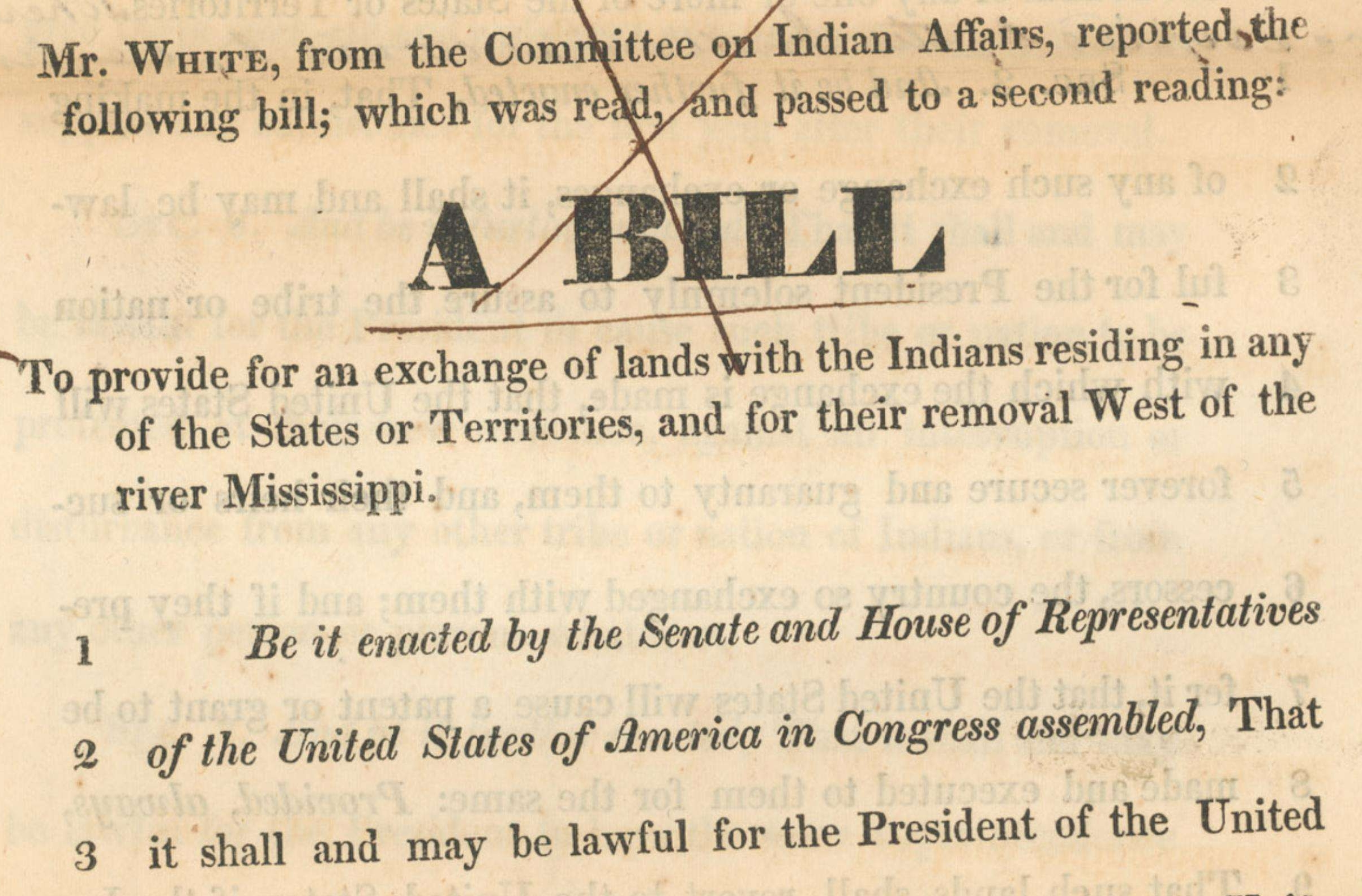 analysis of the indian removal act M whalen the indian removal act of 1830 with the population of america increasing, white settlers were pushing the government to obtain native american lands in the lower south which would be ideal for growing cotton.