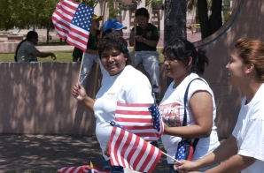 Demonstration for Immigrant Rights