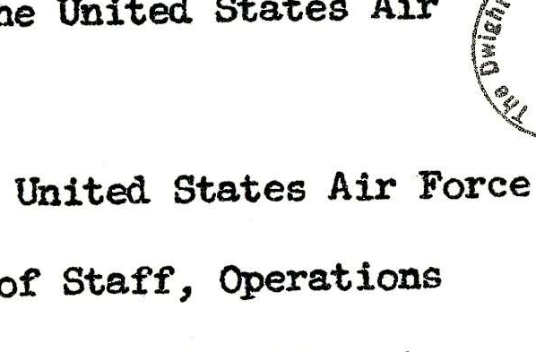 Report of United States Air Force Visit to the Soviet Union