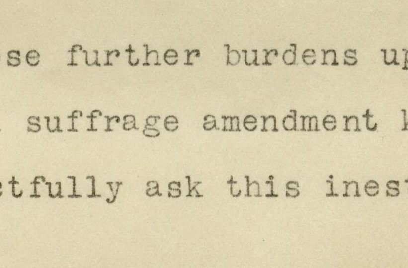 Resolutions of the Ohio, Cincinnati, and Hamilton Co. Associations Opposed to Woman Suffrage