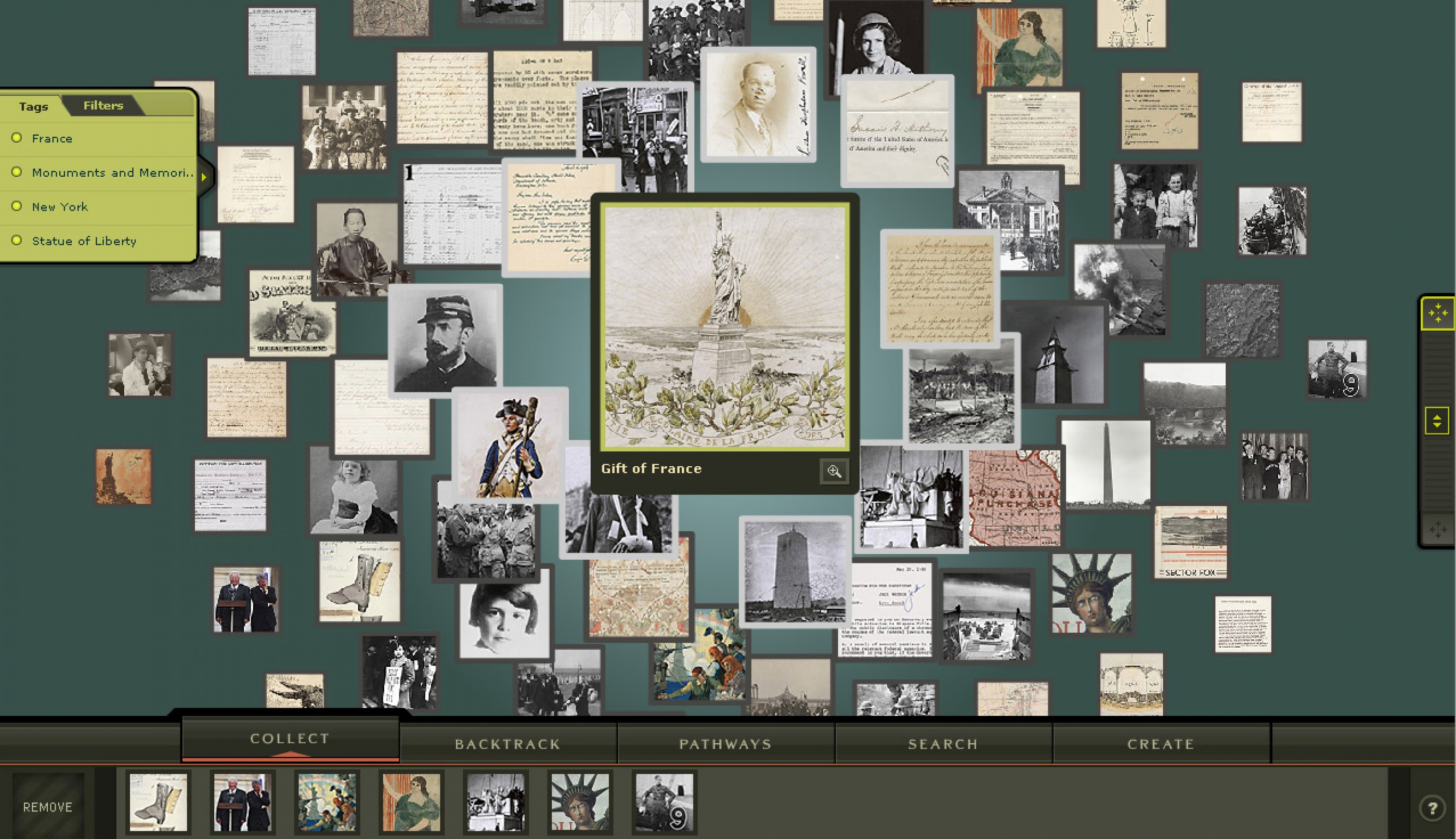 National Archives Experience: Digital Vaults